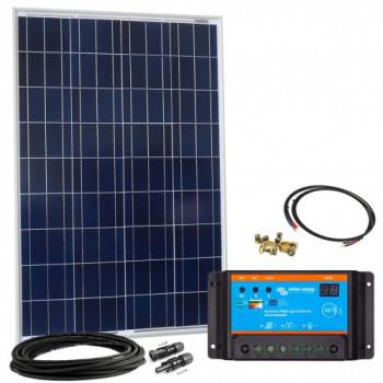 100W 12V Solar Garten Set Basic Bausatz