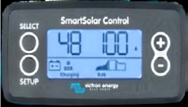 Display Plug and Play Smartsolar Laderegler MPPT Victron energy