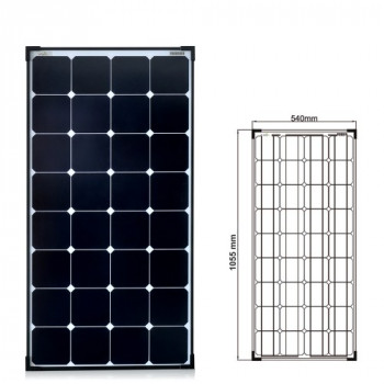 High Power Solarmodul back contact Solarzellen