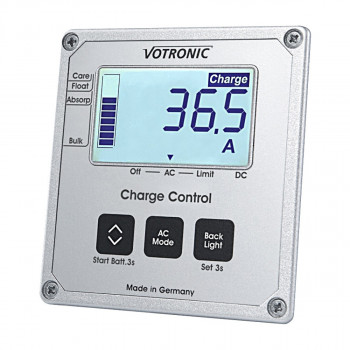 Votronic 1248 LCD-Charge Control S-VCC Display für Ladewandler VCC-Serie