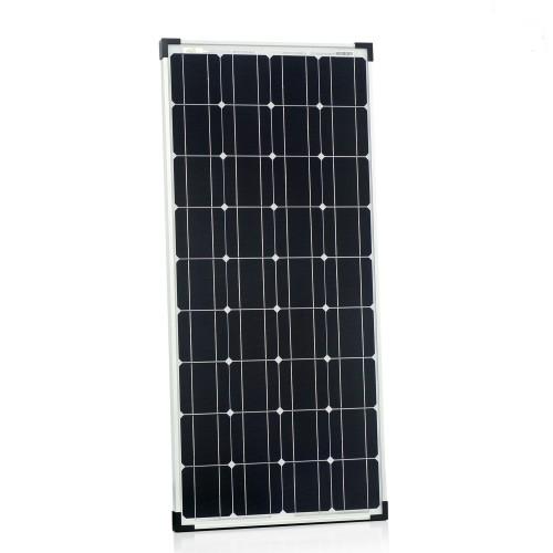 100w solarpanel 12v monokristallin solarmodul. Black Bedroom Furniture Sets. Home Design Ideas
