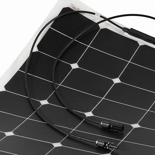 Offgridtec® ETFE SPR-F-30 35W marine Solarzelle flexibel Begehbar 12V Solarmodul