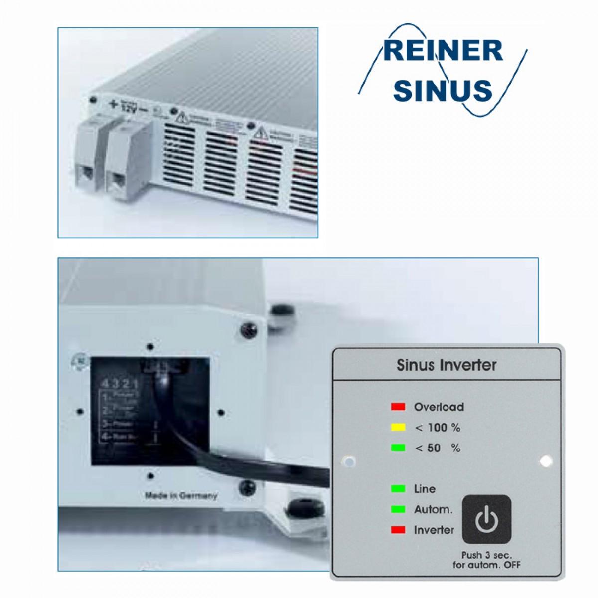 Votronic 10 SMI 10 ST-NVS MobilePower Sinus Wechselrichter