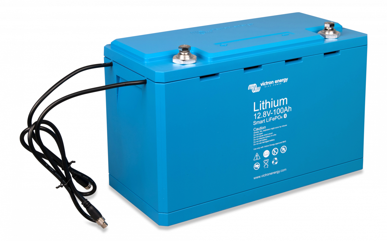 100Ah Victron LiFePo4 12,8V Smart Batterie Lithium-Akku 1280Wh