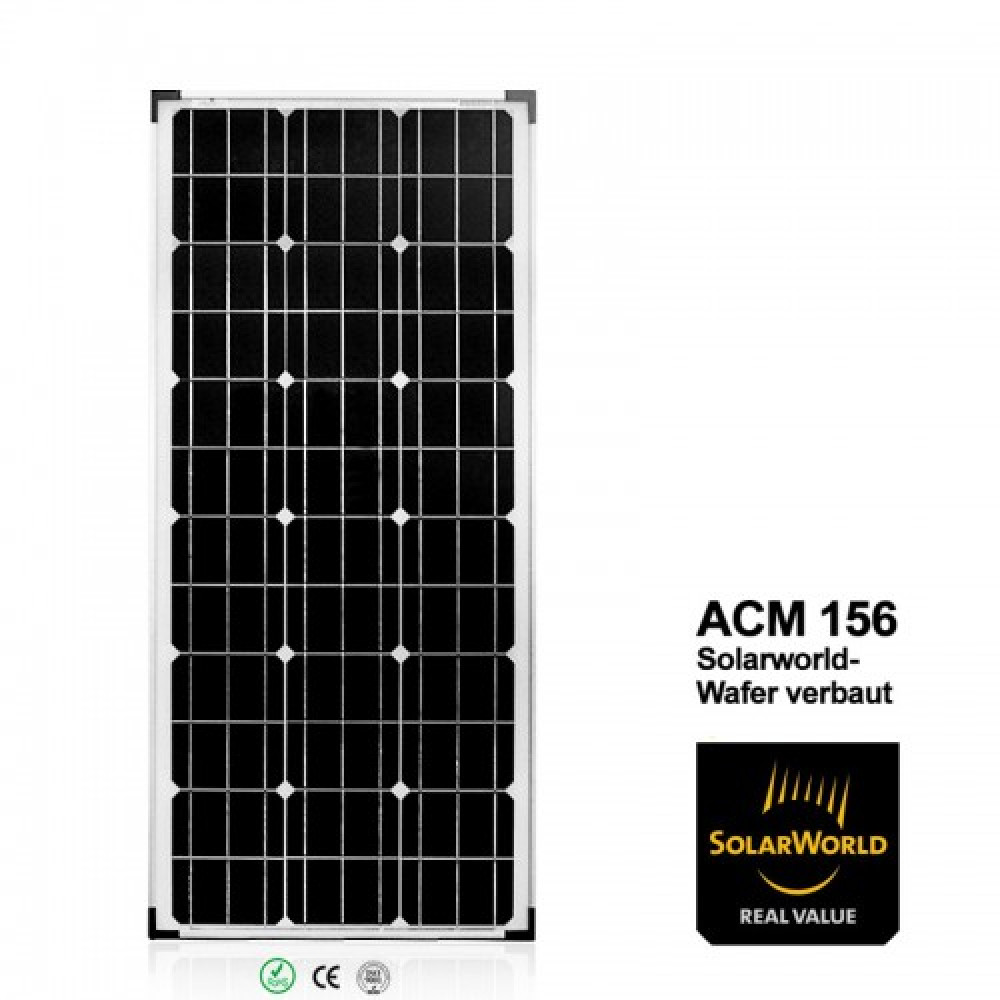 100w caravan wohnmobil solaranlage mcomfort vecore pre 12v. Black Bedroom Furniture Sets. Home Design Ideas